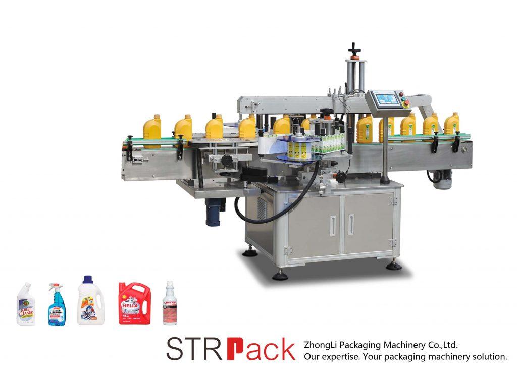 מכונת תיוג אוטומטית עם צדדים בודדים / כפולים