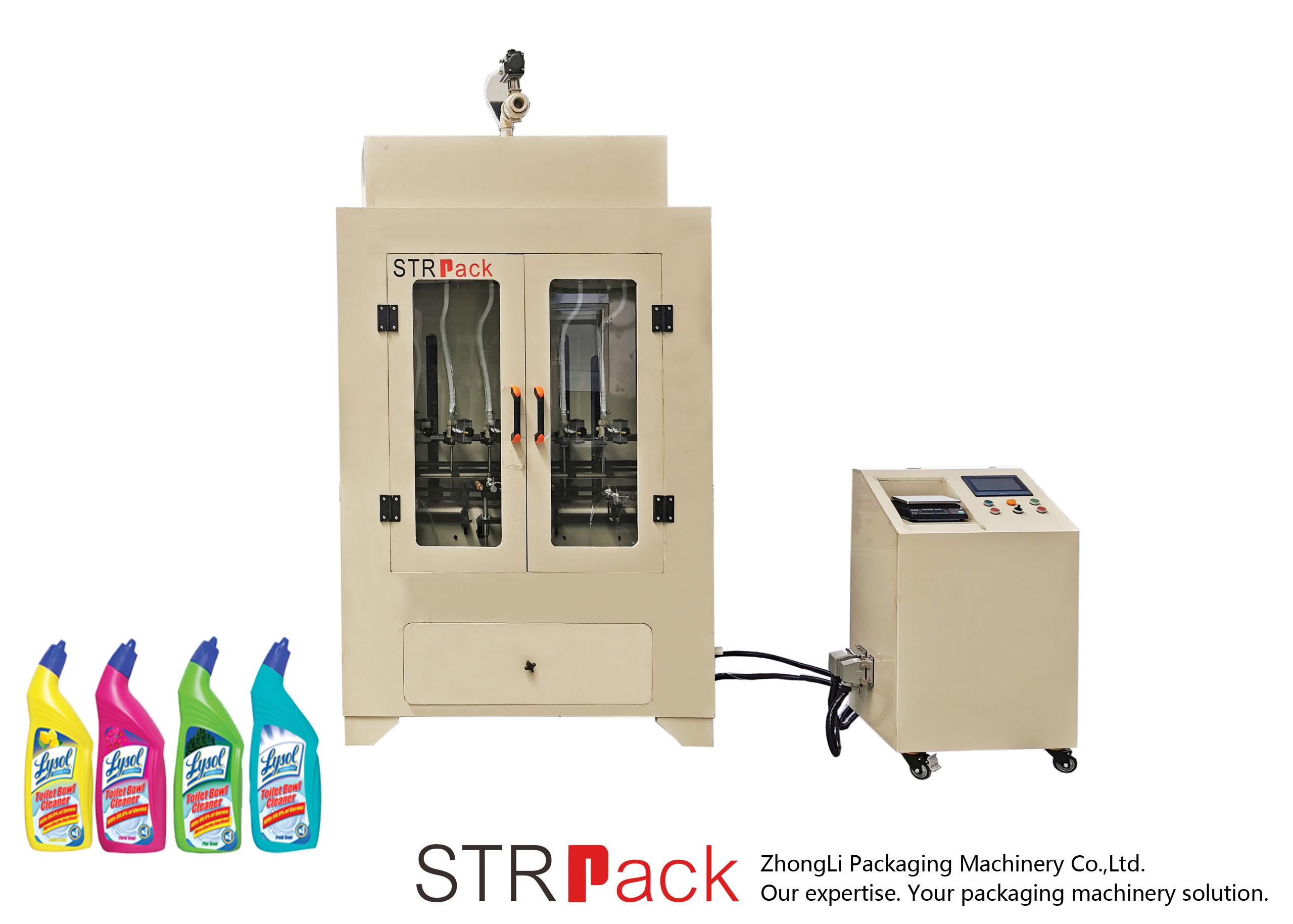 מכונת מילוי נוזלית לשואב אסלה